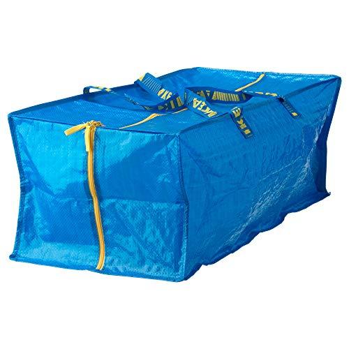 Ikea Frakta Storage Bag - Blue -- SET OF 3